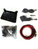 TREUIL T-max ATW PRO 12V 2040 kg corde synthétique et telecomande