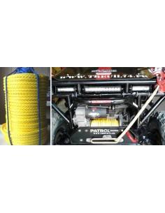 Corde synthétique pour treuil en rouleau diam 14 X 100m