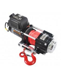 Treuil Electrique Warrior 1588 kg 12v corde Synthétique