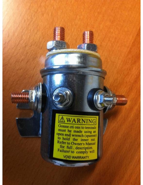Relais 12v pour treuil 4x4 200 AMP