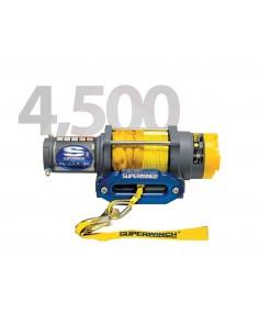 Treuil Electrique Superwinch TERRA 45SR 12V 2041 Kg avec corde synthétique