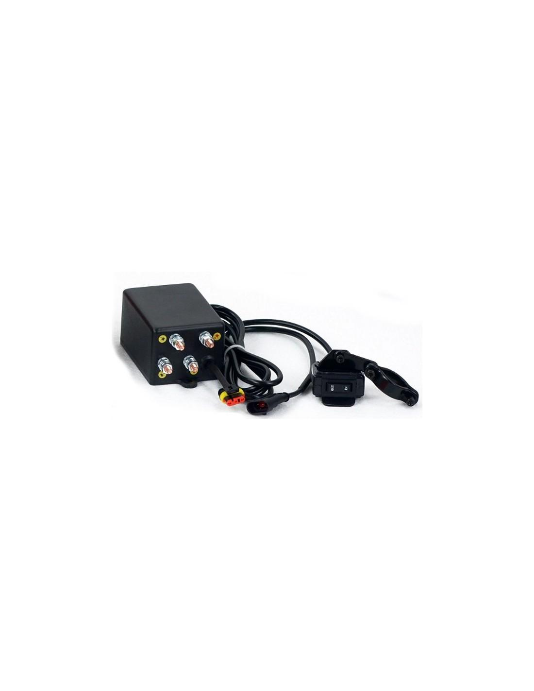 treuil electrique powerwinch 2041 kg 12v avec radio commande. Black Bedroom Furniture Sets. Home Design Ideas
