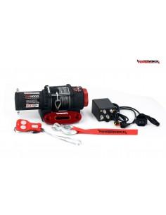 Treuil Electrique PowerWinch 1814 Kg 12v corde synthétique et telecomande