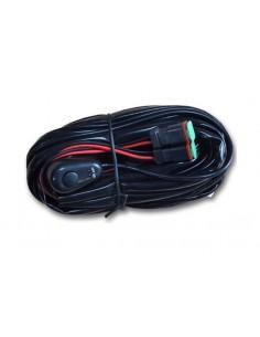 Faisceau de câblage pour montage 1 a 2 feux a led