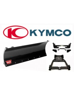 Kit complet de lame 152cm. pour Quad Kymco fixation frontale
