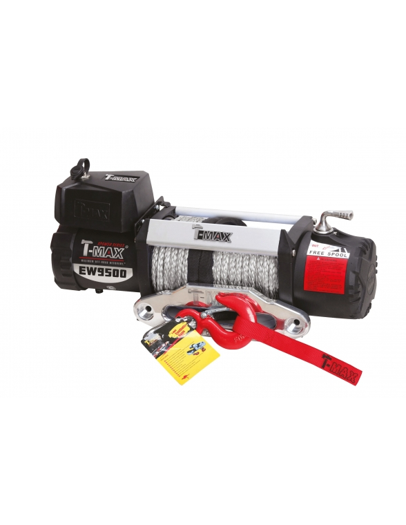 Treuil T-max 12 volts X Power PHEW 4305 KG corde