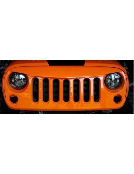 Calandre agressive Jeep Wrangler JK  2et 4 portes +1