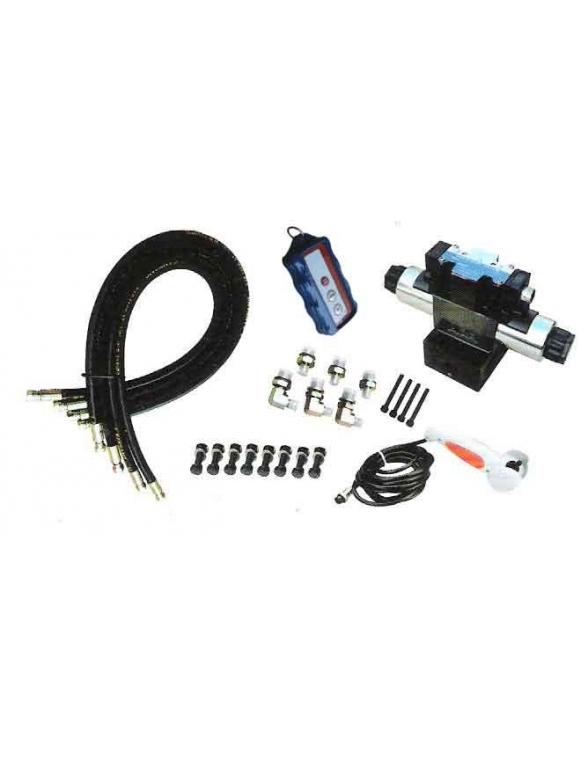 Kit Hydraulique 12 v avec radio commande