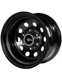 Jante acier Modular black 8X15 5x139,7 deport -25