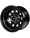 Jante acier Modular black 8X15 6x139,7 deport -25
