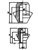 ECROU CANON 6mm CHROME 1/2