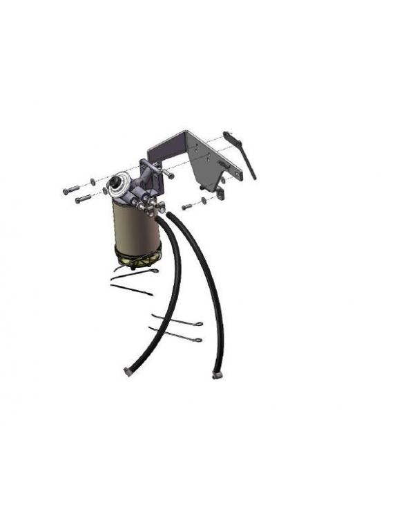 Toyota Hilux KUN 25L / 26L Support filtre carburant separateur d'eau
