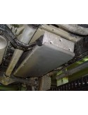 Nissan Navara D40 CD / CE Protection reservoir de carburant