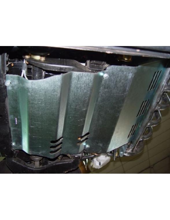 Mitsubishi L-200 TRITON 2010 5M Sabot protection carter moteur