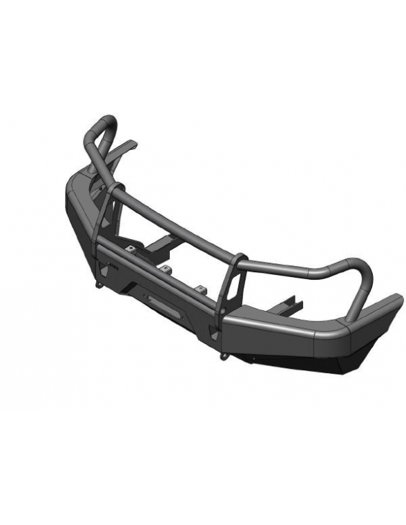 Mazda BT-50 CD / CE / CS Pare choc avec pare buffle integre