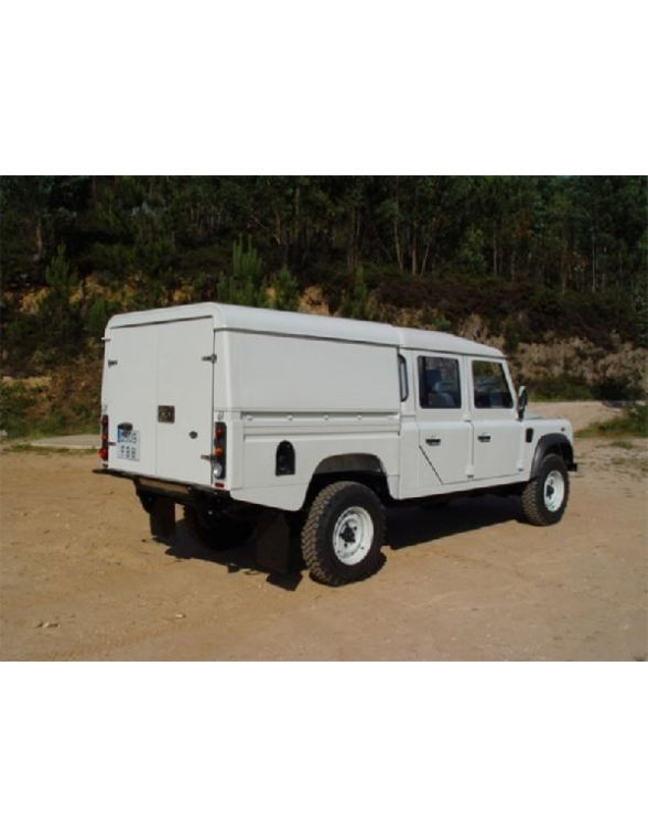 Land Rover Defender 130 Hard top aluminium