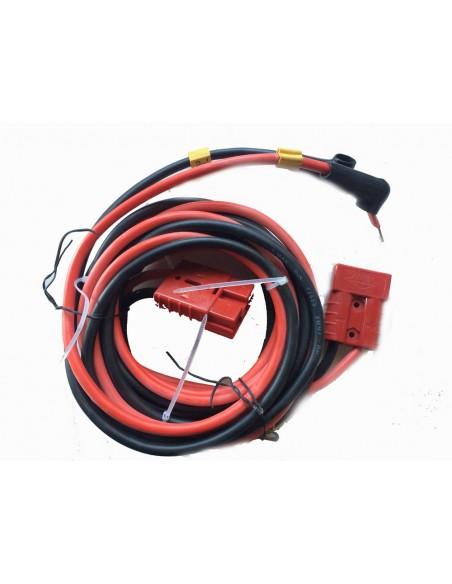 Rallonge câble électrique 10 mm² longueur total 3.5 m