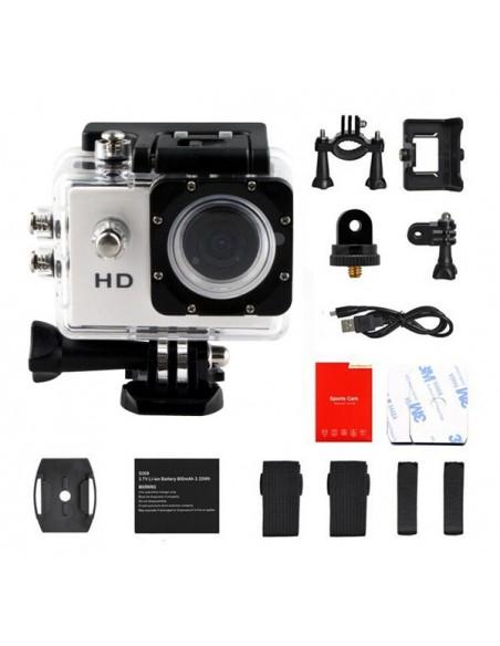 Mini camera HD Smart 720p avec caisson étanche et accessoires