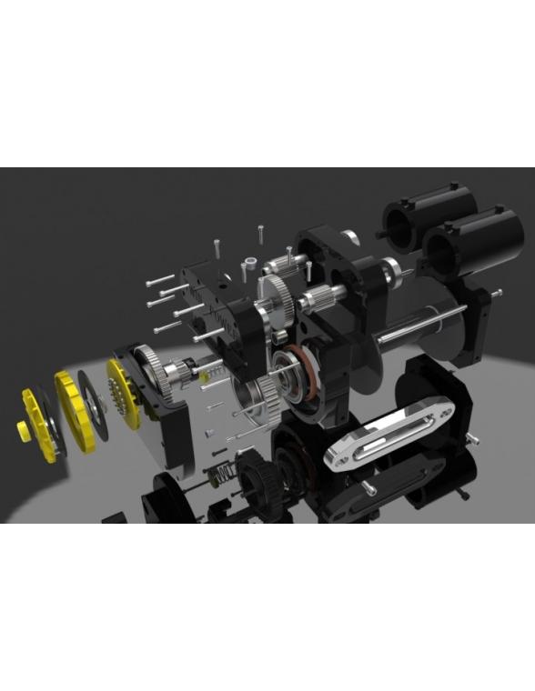 TREUIL TIBUS TW15000 bi moteur