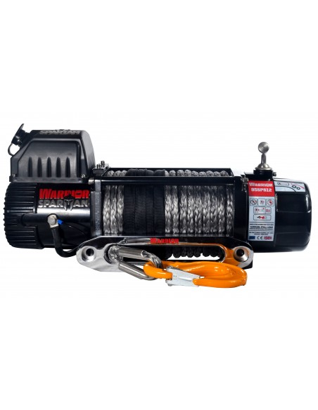 Treuil Electrique Spartan 3629 Kg 12v corde 8mm x 25m