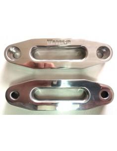 Ecubier Aluminium pour treuil quad logo Warrior 122mm