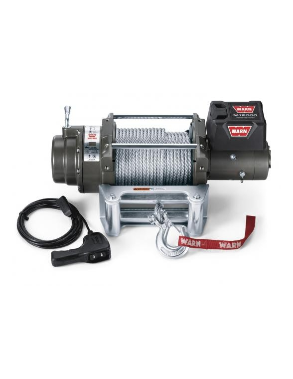 TREUIL Warn M12000 5400 Kg 24 Volts
