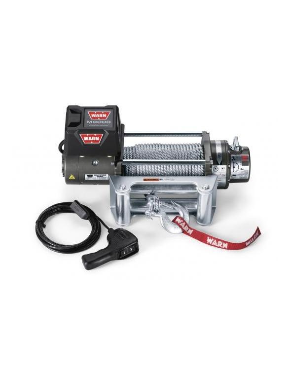 TREUIL Warn M8000 3600 Kg 12 Volts