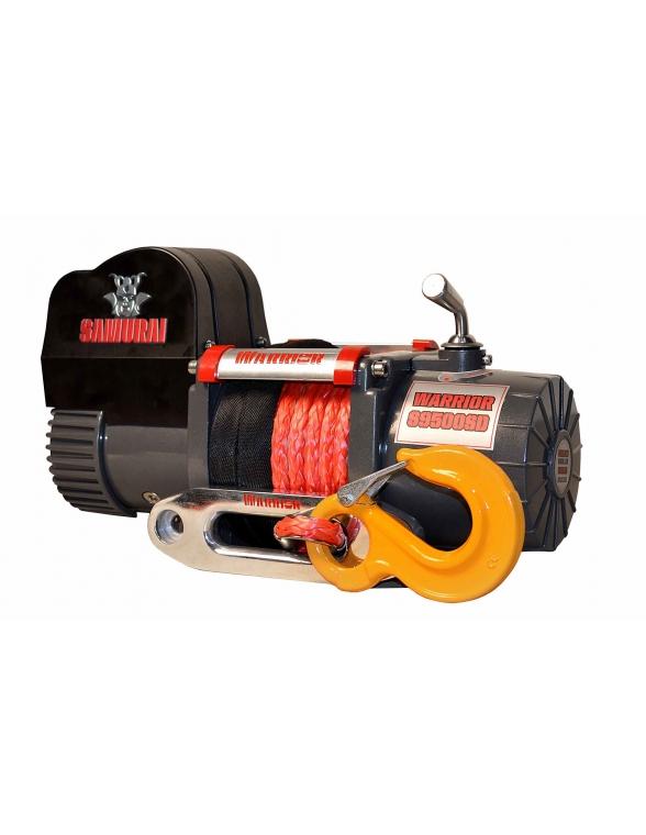 Treuil Electrique Warrior Samurai 4309kg 12v corde Syntetique