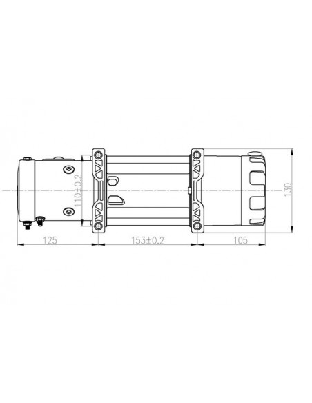 TREUIL T-max ATW PRO 12V 2720 kg