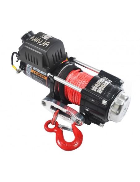 Treuil Quad Electrique Warrior 1134 kg 12v corde synthetique
