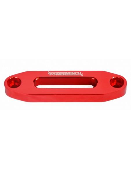 Ecubier Aluminium PowerLine rouge pour treuil Quad ou SSV