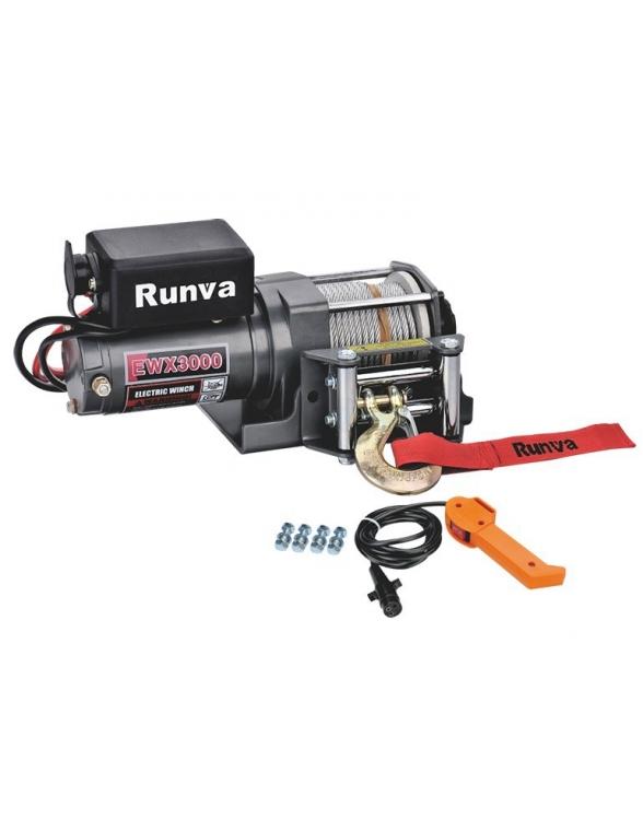 Treuil Electrique Runva 1360 kg 12v radio commande