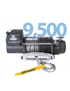 Treuil Electrique Superwinch TIGER SHARK 4309 Kg corde Synthétique
