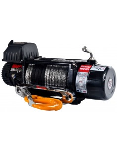 Treuil Electrique Spartan 3629 Kg 12v corde 30m