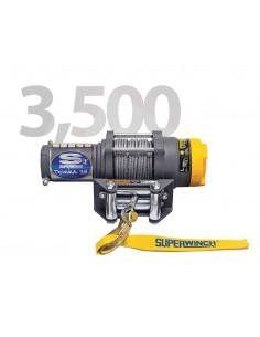 Treuil Electrique Superwinch TERRA 35SR 1588 Kg avec corde synthétique