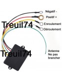 Telecommande Radio commande pour treuil 12v