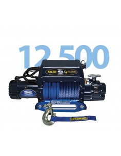 Treuil Electrique Superwinch Talon 12.5i SR 5670kg 12v corde synthétique