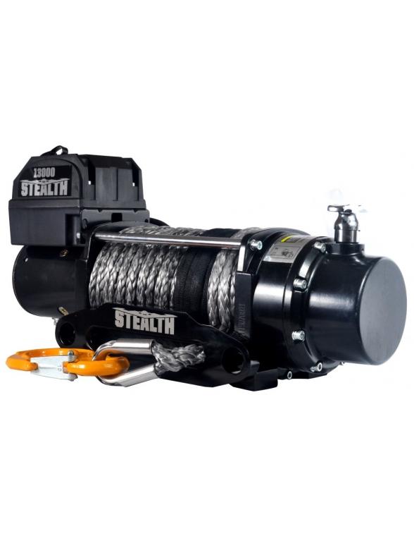 Treuil Electrique STEALTH 5900 Kg 12v corde Synthetique