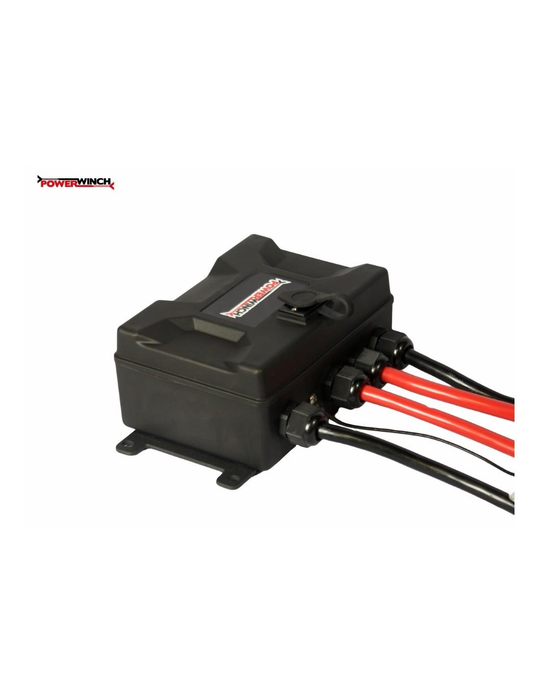 Treuil electrique powerwinch 5900 kg 12v telecommande - Treuil electrique 12v ...
