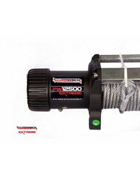 Treuil PowerWinch 5670 Kg 12v IP68 Extreme