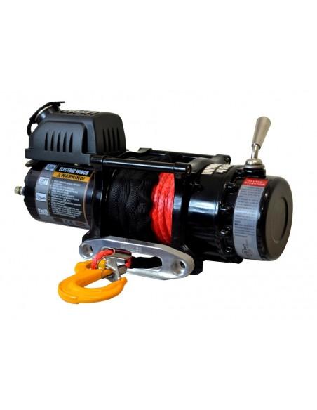 Treuil Electrique Warrior Ninja 2041 kg 24v corde synthétique