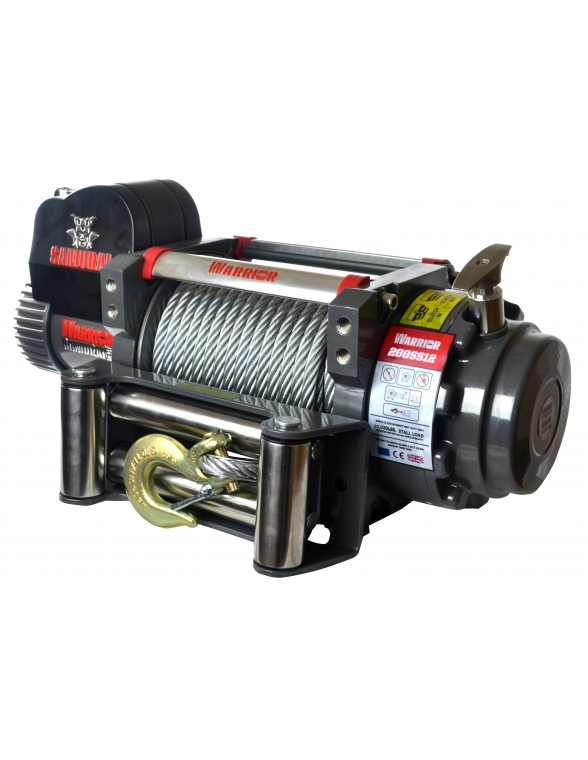 Treuil Electrique Warrior Samurai 9070kg 12v
