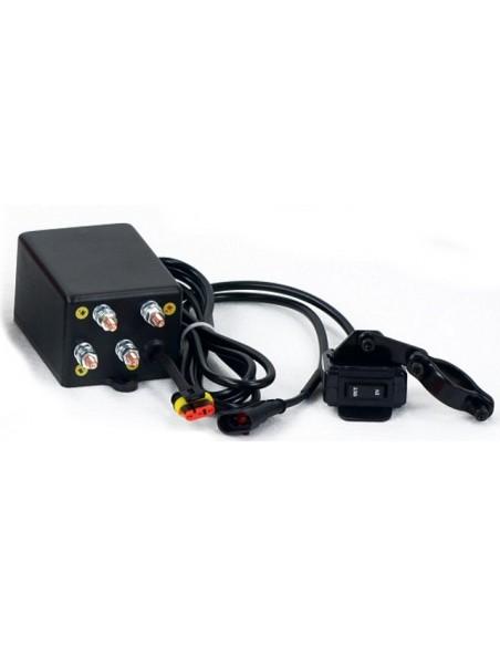 Treuil Electrique PowerWinch 1588 Kg 12v telecomande