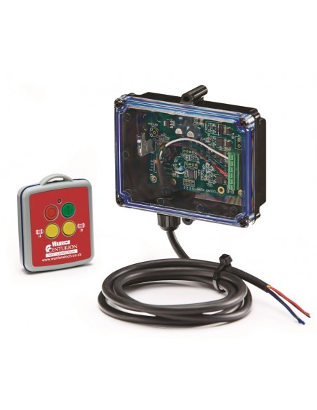 Système LODAR Centurion radio commande sans fil complet pour treuil 12v - 24v