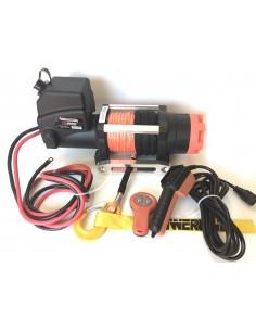 Treuil Electrique PowerWinch 2720 Kg 12v corde synthétique