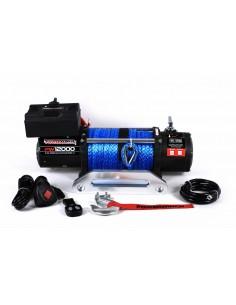Treuil Electrique PowerWinch 5400 Kg 12v corde synthétique et telecommande