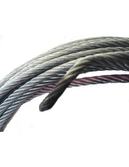 Cable acier pour treuil 9000kg 12mm x 26m