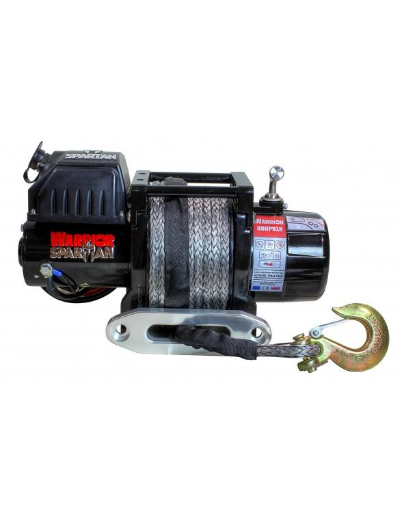 Treuil Electrique Spartan 2722 Kg 12v avec  30m de corde synthétique