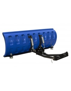 Kit lame de déneigement SHARK 152 cm. montage universel bleu