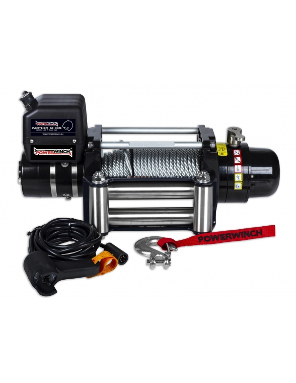 Treuil Electrique Powerwinch Panther 12.0 Higth Speed 5440kg